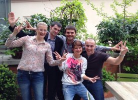 5 maramureşeni, angajaţi ai UAC Europe, la Maratonul de la Viena